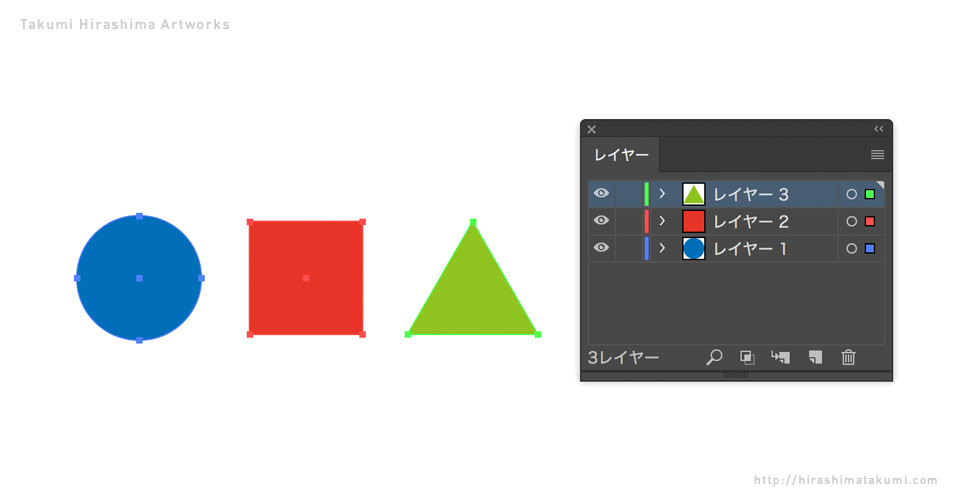 Adobe Illustrator レイヤーごとオブジェクトを別ファイルにペーストする方法
