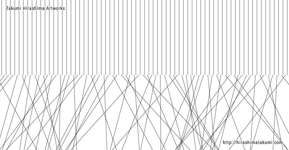 イラストレーター 線の束をランダムに回転させる方法
